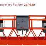 10m powered aluminum rope suspended platform ZLP1000 unuopa fazo 2 * 2.2kw